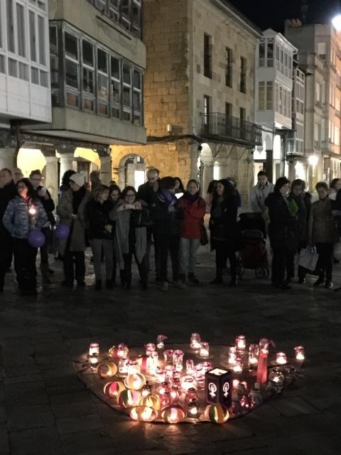 Manifestación contra las violencias de género en León 25 nov.